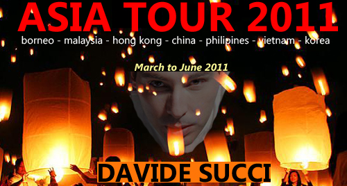 Davide Succi – Asia tour 2011