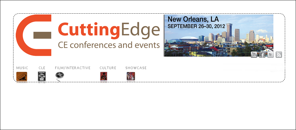 Live set @ Cutting Edge CE Conference  New Orleans, USA
