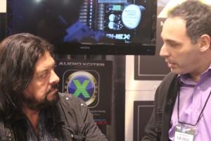 Davide Succi and Alan Parsons at Namm 2013