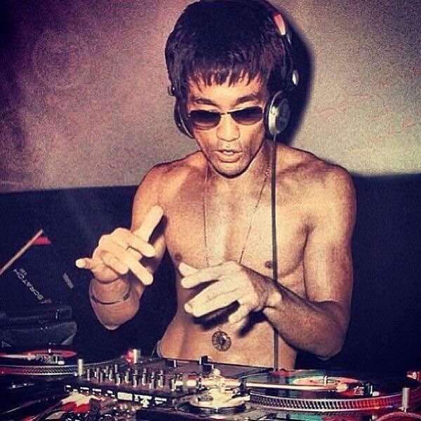Bruce Lee….Deejay?