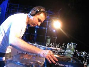 davide succi hainan electronic music stage